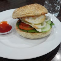 Photo taken at Cafe Pisang by Arief D. on 4/9/2014