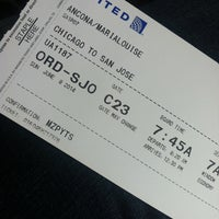 Photo taken at Gate C23 by Maria A. on 6/8/2014