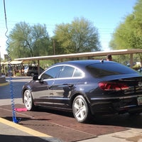 Photo taken at Danny's Family Car Wash by Hayley V. on 10/17/2016