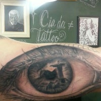 Photo taken at Cia da Tattoo by Alessandra F. on 9/18/2015