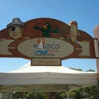 Photo taken at Nautico Praia Clube by Fábio A. on 9/29/2012