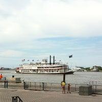 Photo taken at Steamboat Natchez by Ally J. on 5/26/2013