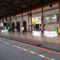 Photo taken at Stasiun Jatinegara by Mohamad T. on 11/8/2012