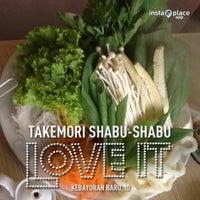 Photo taken at Takemori Shabu-Shabu by Andar M. on 12/28/2012