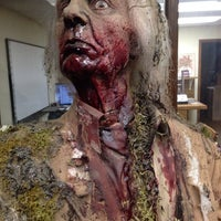 Photo taken at The Factory of Terror Haunted House by John E. on 10/5/2013