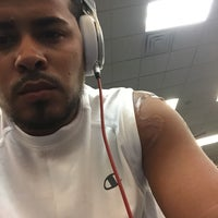 Photo taken at LA Fitness by Iam G. on 7/27/2015