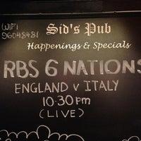 Foto tirada no(a) Sid's Pub por 🍺 Geoff S. em 3/10/2013