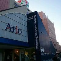 Photo taken at Matsumoto Bus Terminal by Hiroshi A. on 12/11/2015
