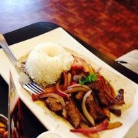Photo taken at Las Americas Restaurant by Tricia L. on 8/17/2014