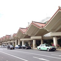 Photo taken at Miyako Airport (MMY) by Gentaro S. on 11/2/2013