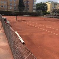 Photo taken at Hästhagen IP Tennisbana by Anna O. on 7/15/2015