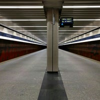Photo taken at Metro Ursynów by Igor V. on 4/30/2016