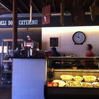 Photo taken at The Deli Woodstock by Justin S. on 1/24/2013
