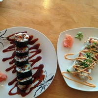 Photo taken at Fuku Sushi by sunny on 5/19/2015