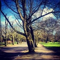 Photo taken at Vondelpark by Yulia D. on 2/2/2013