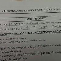 Photo taken at Terengganu Safety Training Centre(TSTC) by Apin on 9/7/2014