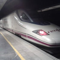 Photo taken at Estación de Albacete-Los Llanos by FERNANDO JOSE Z. on 2/13/2013