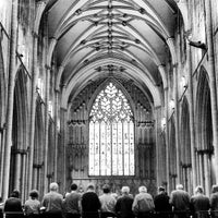 Photo taken at York Minster by David A. on 6/15/2013