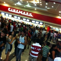 Photo taken at Cinemark by Dalbert B. on 11/20/2012