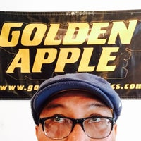 Photo taken at Golden Apple Comics by Ray L. on 5/7/2016
