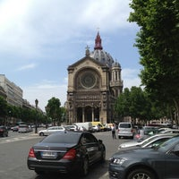 Photo taken at Église Saint-Augustin by Dominic P. on 6/19/2013