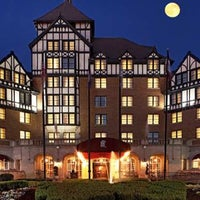 Photo taken at The Hotel Roanoke & Conference Center - Curio - A Collection by Hilton by Rose  S. on 7/11/2013