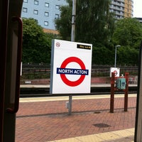 Photo taken at North Acton London Underground Station by Olivier O. on 6/28/2013