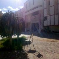 Photo taken at Institut Supérieur d'Administration des Affaires de Sfax by Bechir C. on 2/8/2016