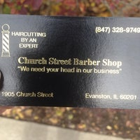Photo taken at Church Street Barber Shop by Michael Steven W. on 11/7/2013