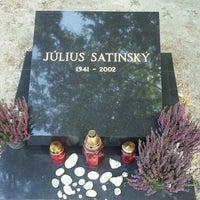 Photo taken at Ondrejský cintorín by Boris on 9/29/2016