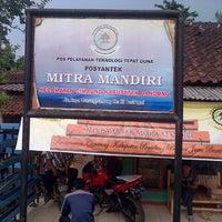 Photo taken at Gunung Puntang by Muhammad R. on 10/26/2013