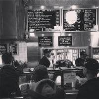 Photo taken at Jim's Steaks by Meredith W. on 2/10/2013