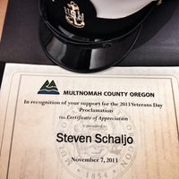 Photo taken at Multnomah County - Administration by Steve S. on 11/7/2013