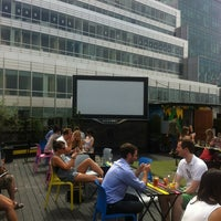 Photo taken at Rooftop @ Queen Of Hoxton by Alex M. on 7/27/2013