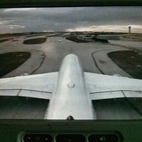 Photo taken at Lufthansa Flight LH 463 by Julian W. on 2/22/2015