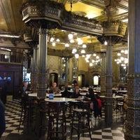 Photo taken at Café Iruña by Giselle V. on 11/9/2012