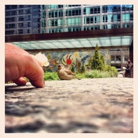 """Photo taken at Chagall Mosaic, """"The Four Seasons"""" by Meagan B. on 5/4/2013"""