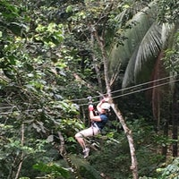 Photo taken at Treetop Adventure Park by Vicky H. on 6/3/2016
