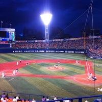 Photo taken at Yokohama Stadium by Shin Y. on 7/4/2013