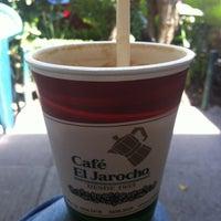 Photo taken at Café El Jarocho by Di R. on 7/16/2013