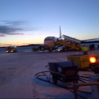 Photo taken at Umeå Airport (UME) by Alexey B. on 2/1/2013