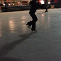 Photo taken at Kendall Square Community Ice Skating by Liliana C. on 1/20/2013