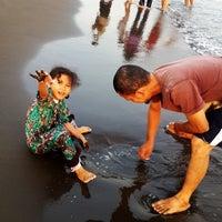 Photo taken at Pantai Alam Indah (PAI) Tegal by Agreeya F. on 9/19/2015