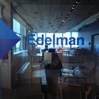 Photo taken at Edelman by Courtenay B. on 10/4/2012