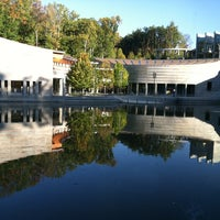 Photo taken at Crystal Bridges Museum of American Art by Lauren D. on 10/14/2012