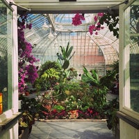 Photo taken at Westmount Greenhouse by Julia C. on 5/10/2014