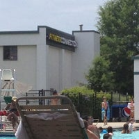 Photo taken at Fitness Connection Pool by Charlie J. on 6/23/2013