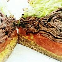 Photo taken at Bagel Maven Cafe by Jim T. on 7/27/2013