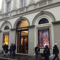 Photo taken at Louis Vuitton by Anna T. on 1/2/2013