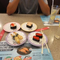 Photo taken at Sushi King by Fatin S. on 8/31/2016